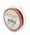 20 GA Red Artistic Wire 15YD Spool