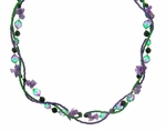 Multi-Strand Amethyst Necklace