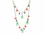 Watermelon Splash Necklace