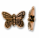 Antique Copper Monarch Butterfly Bead