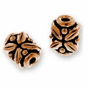 Antique Copper Leaf Bead