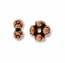 Antique Copper Four Flowers Rondell