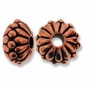 Antique Copper 10mm Joy LH Bead