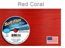 Soft Flex Wire: Red Coral .019 Diameter 49 Strd 30FT