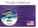 Soft Flex Wire: Purple Amethyst .019 Diameter 49 Strd 30FT