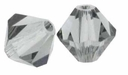 Black Diamond 5328 6mm Swarovski Crystal XILION Bicones Beads (10PK)