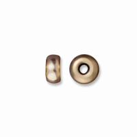 3mm Brass Oxide Disk Heishi Spacers (10PK)