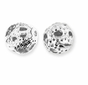 Silver Plate Filigree 6mm Beads (30PK)