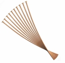 Copper Plated 2 inch 21 Gauge Head Pin (10PK)