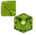 Olivine 5600 Swarovski Crystal 4mm Diagonal Cube Beads (10PK)