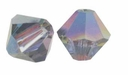 Crystal Vitrail Medium 5328 4mm Swarovski Crystal XILION Bicones Beads (10PK)