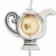 Antiqued Silver 14mm Teapot Bead Frame (1PC)