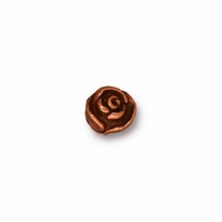 Antique Copper Rose Bead (1PC)