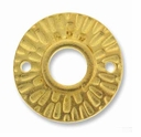 Radiant Round Gold Link