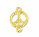 Antique Gold 5/8� Peace Link
