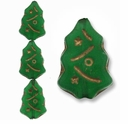Czech Christmas Trees 17mm Green (12 PK)