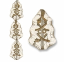 Czech Christmas Trees 17mm Crystal (12 PK)