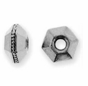 5mm Antique Silver Faceted Spacer (10PK)