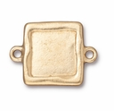 Gold Plated Simple Square Link