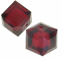 Siam 5601 Swarovski 4mm Cube Bead (1PC)