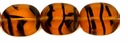 Lt. Tortoise Oval Window 12/14mm Beads (12PK)