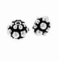 6 x 4mm Sterling Silver Bali Spacer Beads  (1PC)