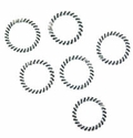 11mm Twisted Ring Spacers (10PK)