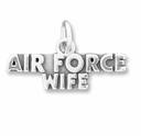 Airforce Wife Charm