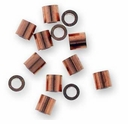 Antique Copper Crimp Bead (10PK)