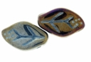 Iris Brown 12/7mm Leaf Beads (24PK)