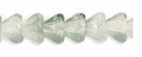 Baby Bell Flowers 4/6mm Green/Crystal (24PK)