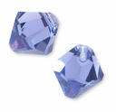 Tanzanite Swarovski 6301 Bicone 8mm Pendants