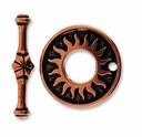 Antique Copper Del Sol Clasp