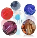 Majestic Crystal® Faceted Round Crystal Beads