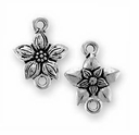 Antique Silver Star Jasmine Link