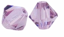 Light Amethyst 5328 5mm Swarovski Crystal XILION Bicones Beads (10PK)