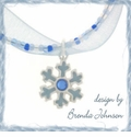 Snowflake and Organza Design