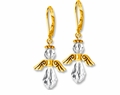 Gold Majestic Crystal Angel Earring Design Kit