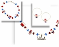 American Pride Jewelry Set Design Idea