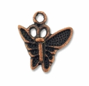 Antiqued Copper 15mm Butterfly Charms (1PC)
