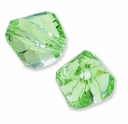 6mm Peridot 5020 Swarovski Crystal Helix Bead (1PC)