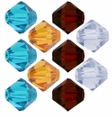 Swarovski 10mm 5328 Xilion Beads