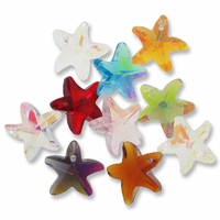 Majestic Crystal® Mixed 15mm Crystal Star Pendants (10PK)