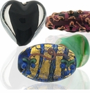 Czech Handmade  Lampwork Glass Beads