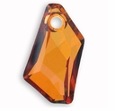 Crystal Copper Swarovski 6670 18mm De-Art Pendants