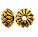Antique Gold 10mm Joy LH Bead