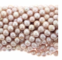 Natural Pink Freshwater Pearl 6.5-7mm Bead Strand