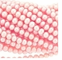 Pink Potato Freshwater Pearl 5-5.5mm Bead Strand