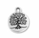Antique Silver Tree of Life Charm