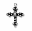 Antique Silver Byzantine Cross